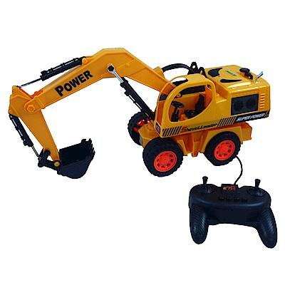 凡太奇 電動線控閃光怪手/挖土機/工程車 8030E - 快速到貨