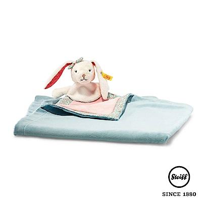 STEIFF德國金耳釦泰迪熊 - 舒眠毯 造型毯 兔子 碎花