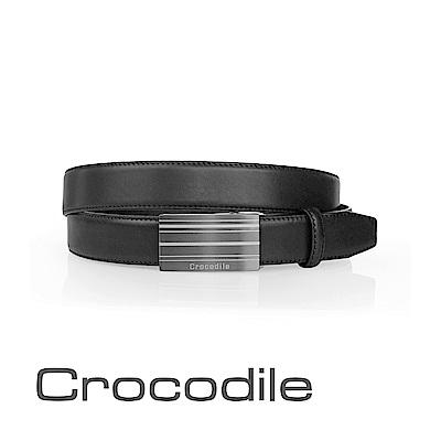 Crocodile 紳士自動穿扣皮帶 0101-42002-01