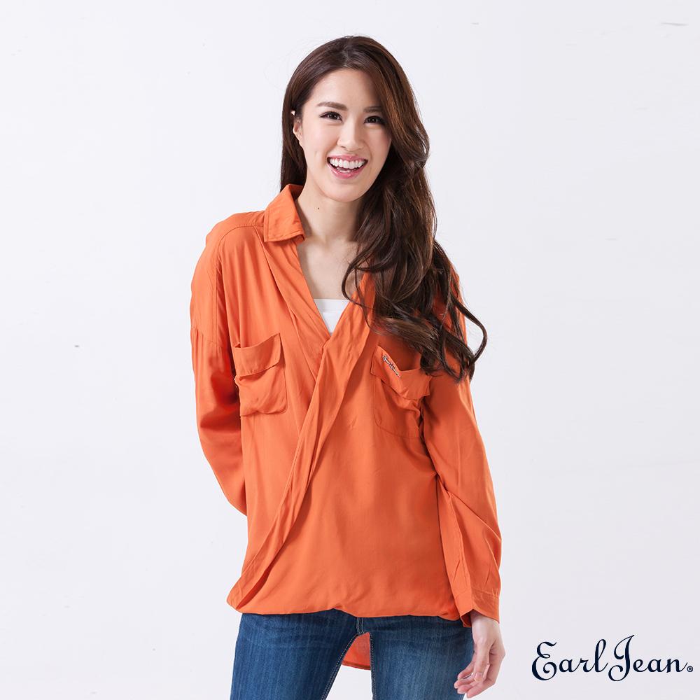 Earl Jean-開襟寬版造型襯衫