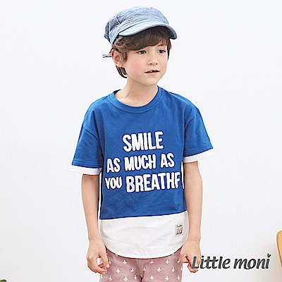 Little moni 休閒假兩件上衣 (2色可選)