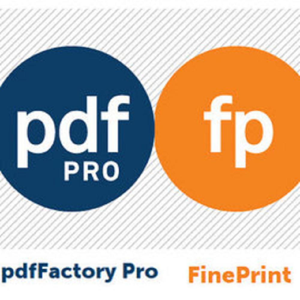 FinePrint+pdfFactory Pro專業組合包 單機版 (下載)