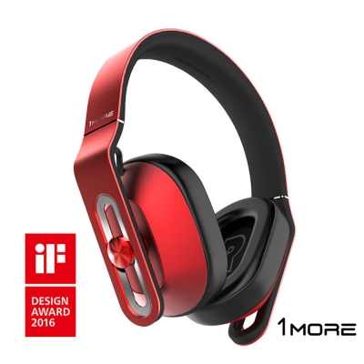 1MORE MK801 耳罩式耳機 (紅)