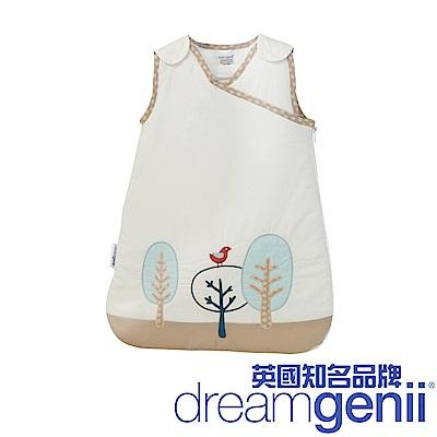 英國 Dreamgenii 防踢被嬰兒睡袋(卡其色紅鳥 S 小號)