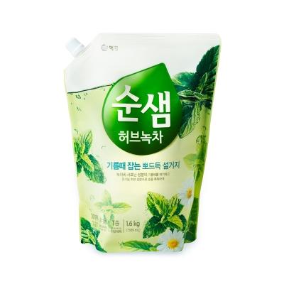 韓國愛敬AK 全植物草本甘菊綠茶洗潔液 1.4kg