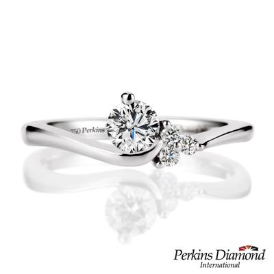 PERKINS 伯金仕 - 夏綠蒂系列 <b>0</b>.30克拉鑽石戒指