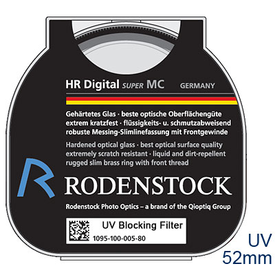 RODENSTOCK-HR-Digital-UV-M52濾鏡-公司貨