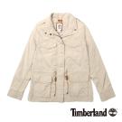 Timberland 女款卡其色多口袋風衣外套