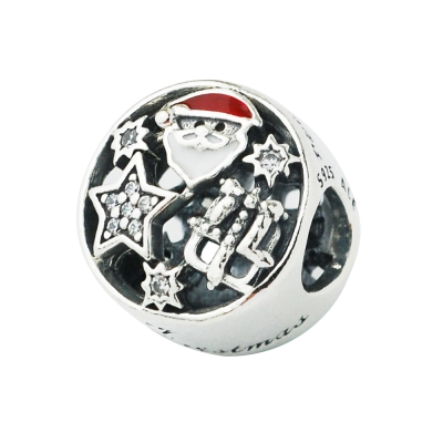 Pandora 潘朵拉 聖誕老人星星雪橇墜