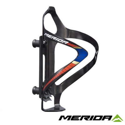 《MERIDA》美利達 巴林車隊版水壺托架 Carbon 紅/白/金 2124003331