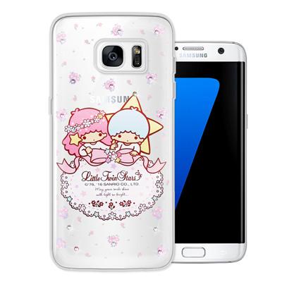 三麗鷗雙子星仙子 Samsung Galaxy S7 edge 水鑽系列手機殼(...