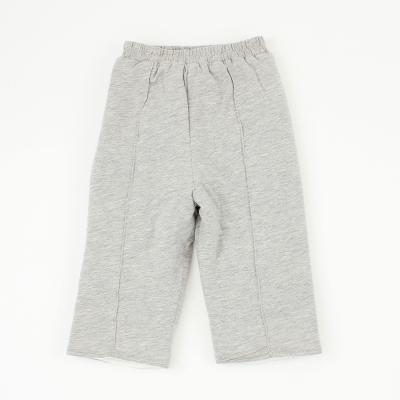 愛的世界 pappa&ciccia 純棉鬆緊帶車線舖棉長褲 1~4歲