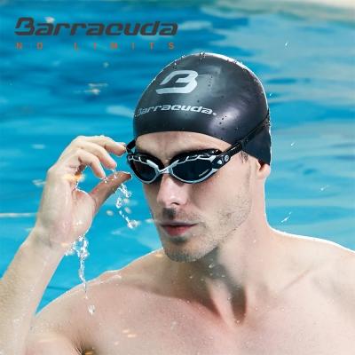 美國Barracuda巴洛酷達 成人矽膠3D 泳帽  快速到貨