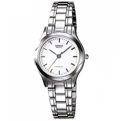 CASIO 時尚典雅服貼舒適腕錶(LTP-1275D-7A)-丁字白面/25mm