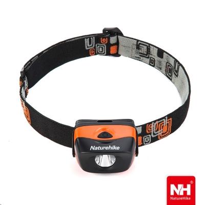 Naturehike防水高亮三段式LED頭燈 橘色-急