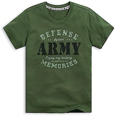 101原創 歷史的記憶短袖T恤上衣-軍綠