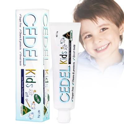 澳洲CEDEL含氟無糖兒童牙膏75g