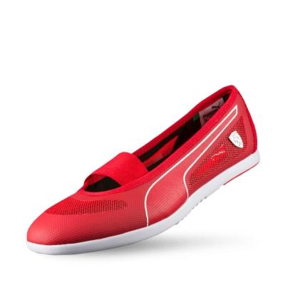 PUMA SF Ballerina 女性休閒鞋-法拉利紅