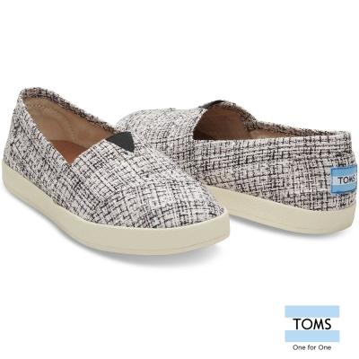 TOMS-撞色織線懶人鞋-女款