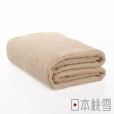 日本桃雪今治超長棉浴巾(咖啡色)