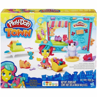 Play-Doh 培樂多 - 城市系列 - 寵物遊戲組