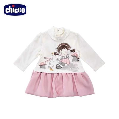 chicco天鵝公主拼接洋裝(12個月-18個月)