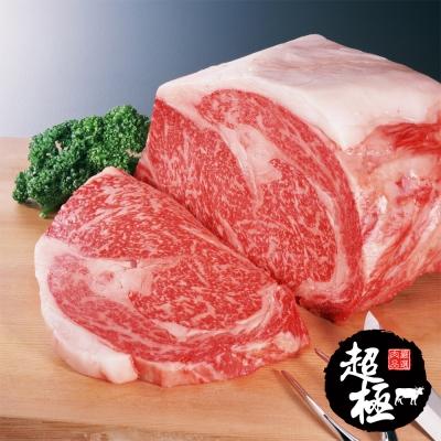 【超極】美國頂級安格斯肋眼牛排6片組(200g/片)