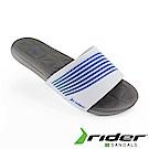 Rider 巴西-女 RESORT 一字拖鞋 (白/藍)