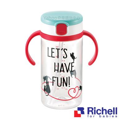 Richell利其爾 貓物語水杯320ML