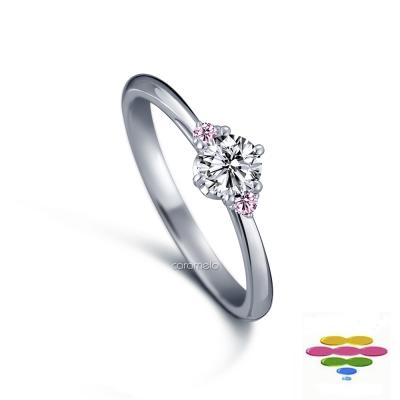 彩糖鑽工坊 19分鑽石戒指 幸褔新娘系列