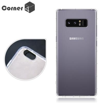 Corner4 Samsung Galaxy Note8 透明防摔手機空壓軟殼
