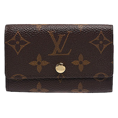 LOUIS VUITTON  M62630 經典Monogram花紋釦式六孔鑰匙包