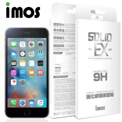 iMOS iPhone 6+/6S+ 5.5吋 9H康寧強化玻璃螢幕保護貼-非滿...
