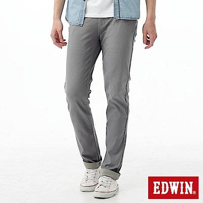 EDWIN AB褲 迦績褲JERSEYS涼感色褲-男-淺灰