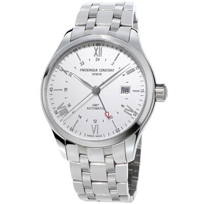 康斯登 CONSTANT  CLASSICS百年經典系列INDEX世界時區腕錶-42mm