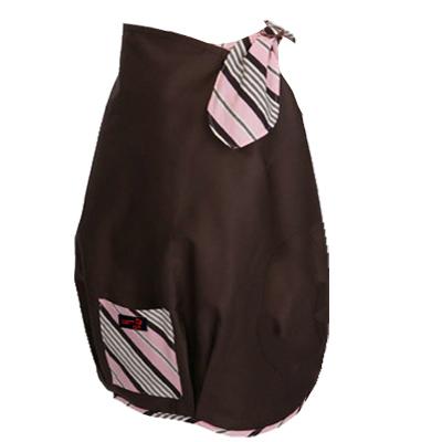 FONDANT BABY 哺乳遮蓋布 披肩-咖啡粉邊