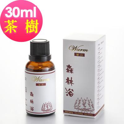 Warm 森林浴單方純精油30ml-茶樹