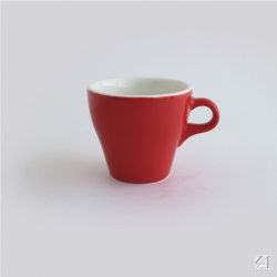日本 ORIGAMI 摺紙咖啡陶瓷拿鐵杯250ml(11色可選)
