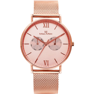 Max Max 三秒翻轉你的時尚腕錶禮盒-MAS 7018 - 3 / 39 mm