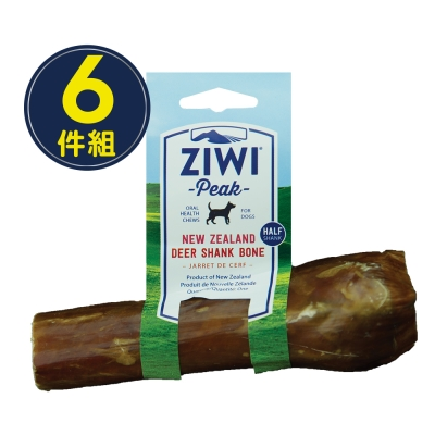 ZiwiPeak巔峰 乖狗狗天然潔牙骨-鹿小腿(S)-六件組