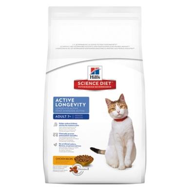 希爾思 7+熟齡貓活力長壽配方 3.5kg【10312HG】