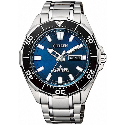 CITIZEN星辰 PROMASTER 鈦200米潛水機械錶(NY0070-83L)