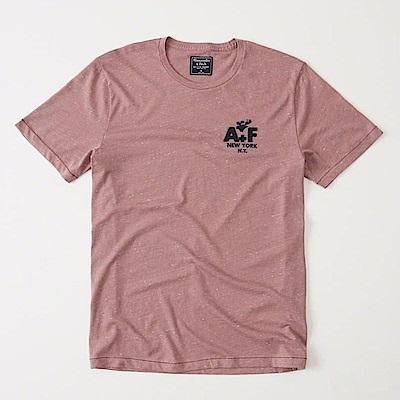 AF a&f Abercrombie & Fitch 短袖 T恤 紅色 0621
