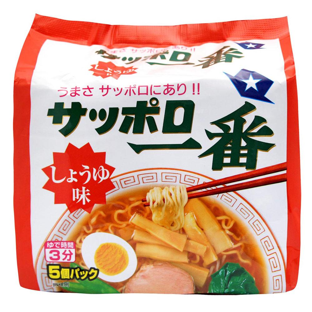 大平 三洋5入包麵-醬油(500g)