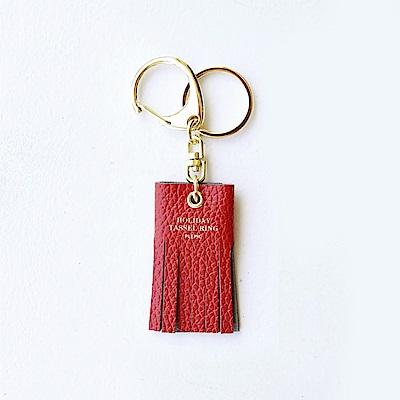 PLEPIC 美好假期流蘇鑰匙圈行李吊牌-威尼斯紅