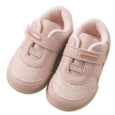 BEBEZOO 粉色花朵運動鞋
