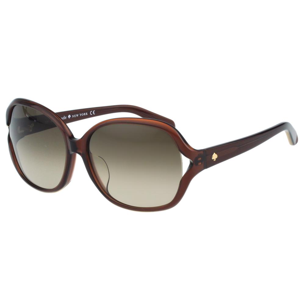 Kate Spade-簡約太陽眼鏡(咖啡色)