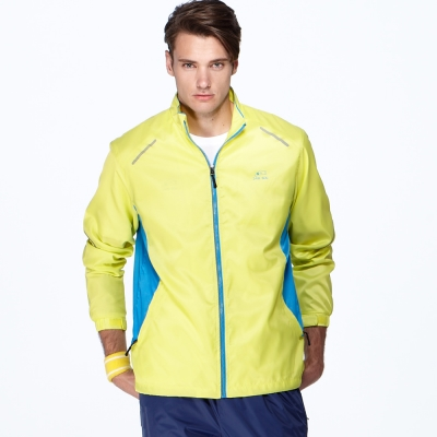 聖手牌 外套 黃色系 抗UV運動休閒外套