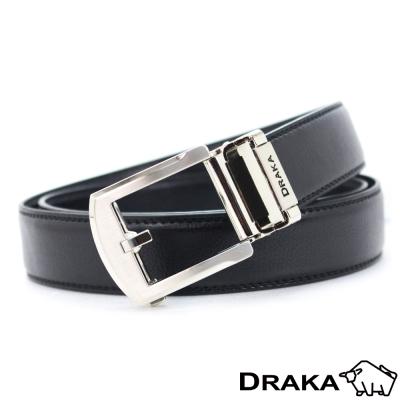 DRAKA 達卡 - 圓弧簡約型自動帶皮帶(41DK5312)