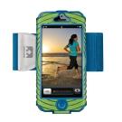 NATHAN SonicBoom iPhone 手臂套 綠/藍